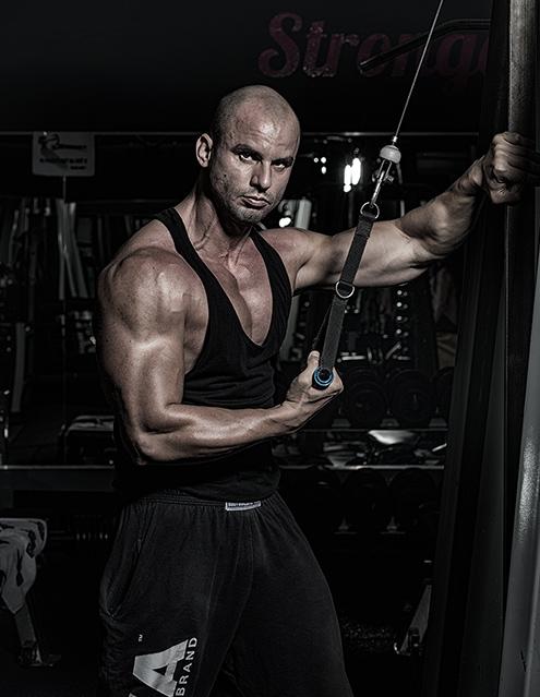 Osobný fitness tréner Ondrej Kažimír