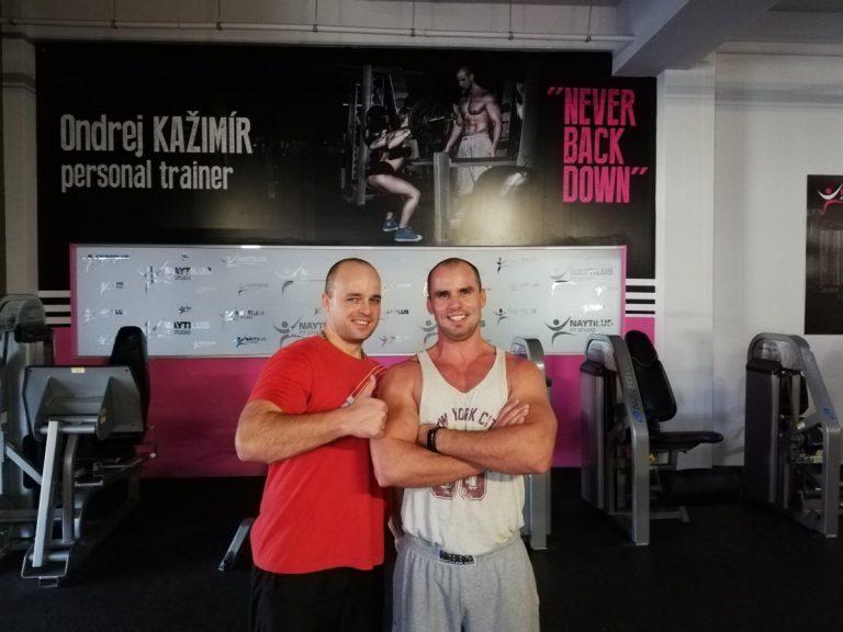 Osobný tréner v Košiciach a klient