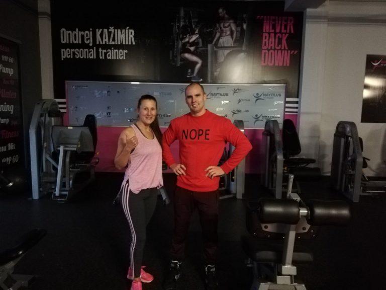 Osobný tréner v Košiciach s klientkou