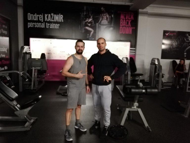 Po úspešnom tréningu s osobným trénerom Ondrejom Kažimírom