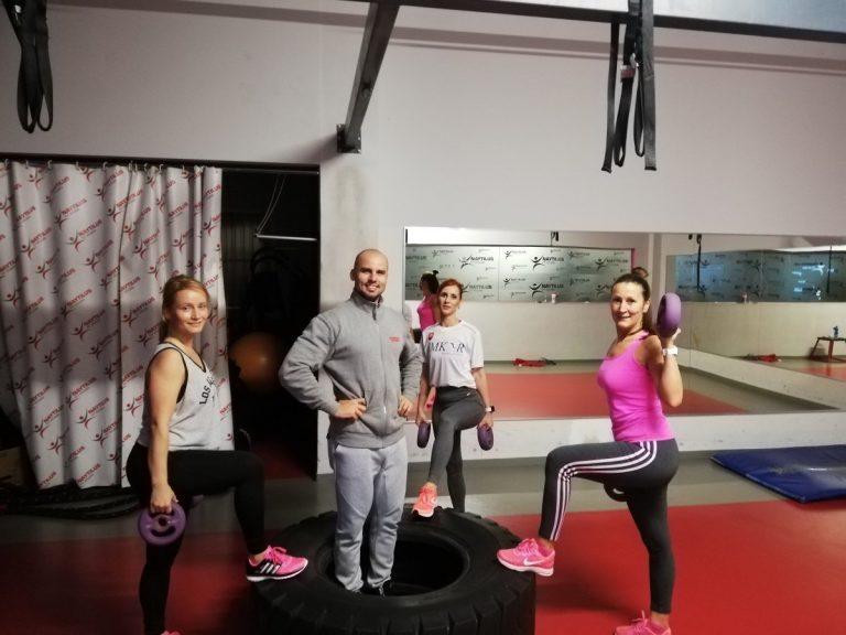 Tréner v Košiciach na tréningu